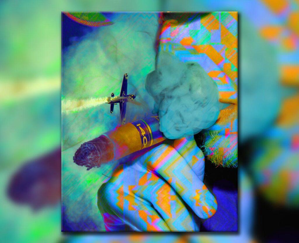 Acid Cigar, 2018. Digital.