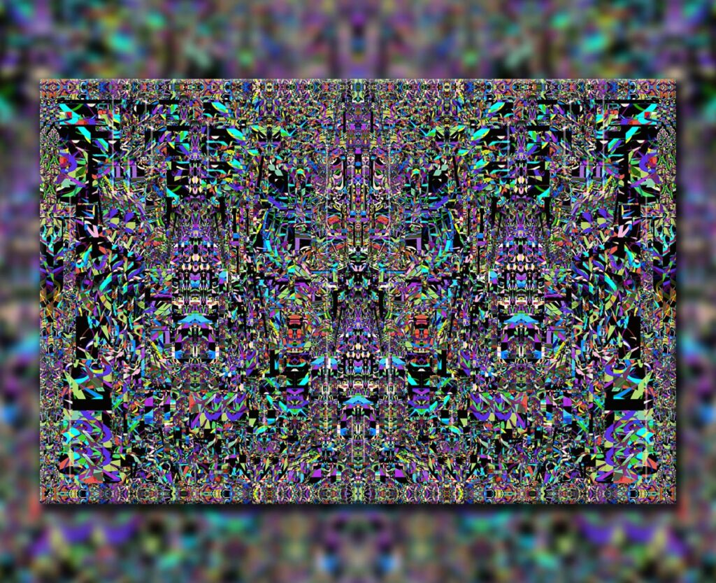Tiki God, 2017. Digital.