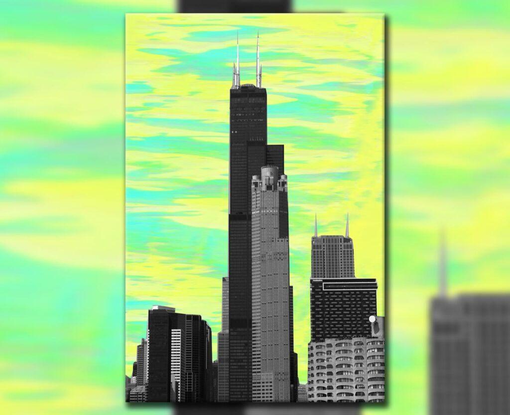 Sear Tower Haze, 2019. Digital.